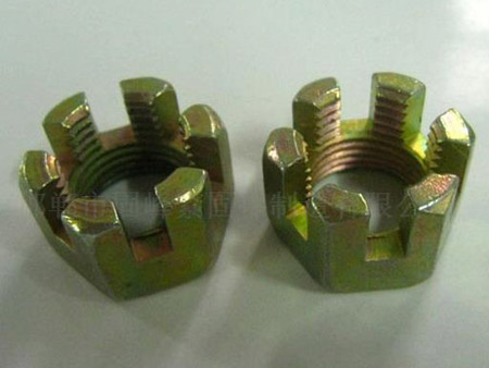 Galvanized alloy steel splined nut